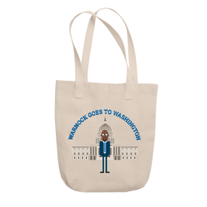 Warnock Goes to Washington Tote
