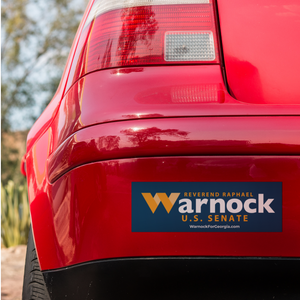 Warnock for Georgia Bumper Sticker