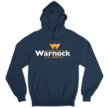 Load image into Gallery viewer, Warnock for Georgia Logo Hoodie