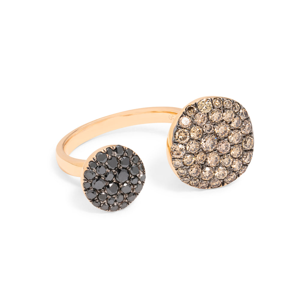Black & Brown Diamond Ring