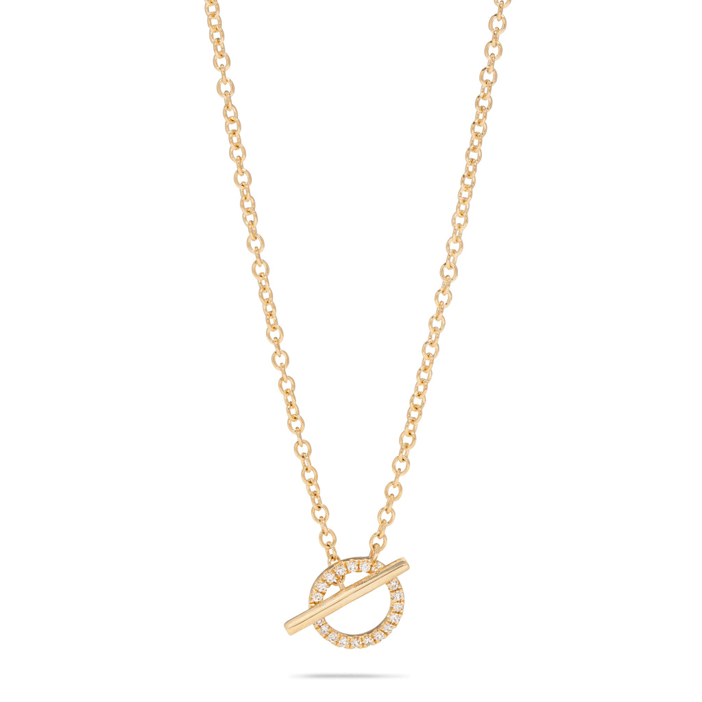 Diamond Toggle Necklace
