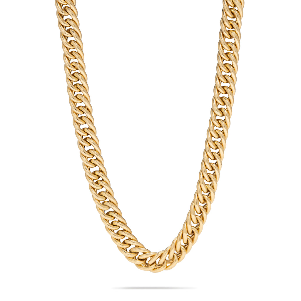 Thick Cuban Chain Necklace