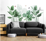 Breathe some life into your space with a plant or garden wall mural decal. Immediately transform the mood of your living space into a warm and inviting vibe
