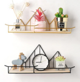 Give your wall interior design some personality with these functional creative wall shelves