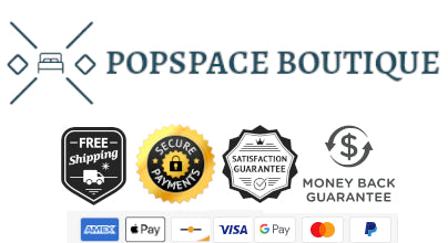 Popspace Boutique, secure ordering, verified store, satisfaction guaranteed, interior design product store
