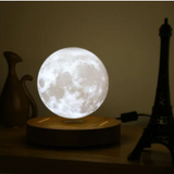 This levitating 3d moon lamp with instantly add a sense of wonder to any space, while also providing dimmable light