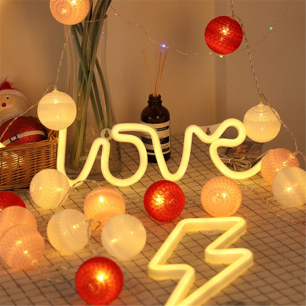 Warm Love Neon Light for Home Decor, Christmas, Birthday