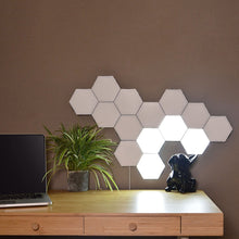 Load image into Gallery viewer, Hexagonal LED Wall Light, Modular Touch Sensor Lights