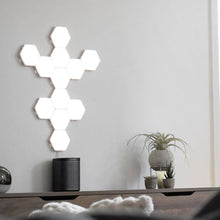 Load image into Gallery viewer, Modern Wall Modular Hex Lights, Home Decor Wall Mounted Touch Lamps