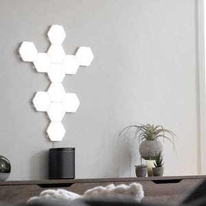 Modern Wall Modular Hex Lights, Home Decor Wall Mounted Touch Lamps