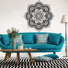 Load image into Gallery viewer, Mandala Flower Wall Mural Decal