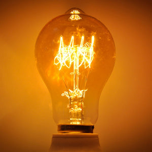 Amber Warm Light Edison Incandescent Filament Light Bulb