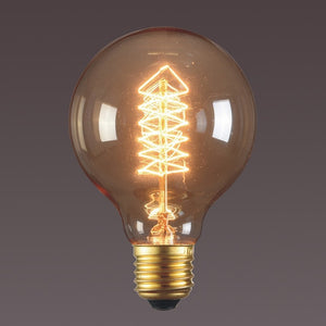 G80 Vintage Filament Incandescent Edison Bulb for Home & Cafe