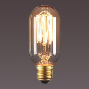 T45 Vintage Edison Light Filament Bulb Lamp