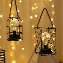Load image into Gallery viewer, Superb Retro Iron LED Lamp Lanterns