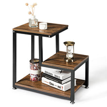 Load image into Gallery viewer, Rustic Retro Athena 3 tier end table