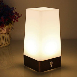 Portable LED Table Lamp with Motion Sensor
