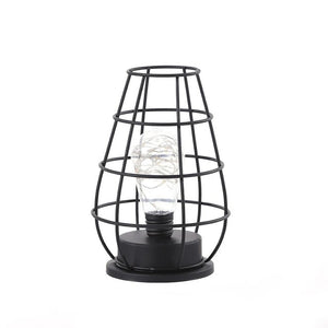 jug iron casing table lamp