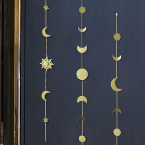 Celestial Gold Moon Star Sun Wall Decor