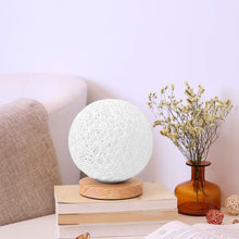 Load image into Gallery viewer, Home Renovation Decor White Moon Table Lamp