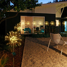 Load image into Gallery viewer, Solar Firework Lights for Indoor & Outdoor Decor