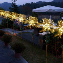 Load image into Gallery viewer, Starburst Outdoor Fireworks Lights for Garden, Porch, Patio