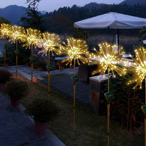 Starburst Outdoor Fireworks Lights for Garden, Porch, Patio