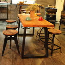 Load image into Gallery viewer, Chic Bar & Cafe Adjustable Vintage Stool, Interior Design, Affordable Design Ideas, Accent Furniture