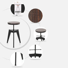 Load image into Gallery viewer, Perfectly Polished Vintage Stool for Home, Office, Bar, Restaurant, Interior Design, Affordable Design Ideas, Accent Furniture