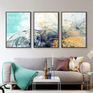 Decorative 3 Piece Panel Wall Art Pieces