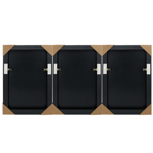 Solid Canvas Base for 3 Piece Wall Art Canvas