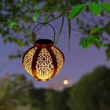 Load image into Gallery viewer, Lantern LED Garden Lights Metal Lamp