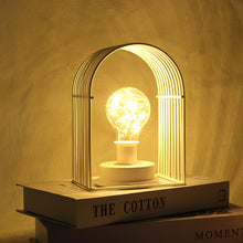 Load image into Gallery viewer, Powerful Filament Light Incandescent Edison Bulb with Iron Casing