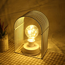 Load image into Gallery viewer, Vintage Wrought Iron Filament Edison Lamp Light Bulb