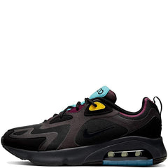 Nike Air Max 200 Men Black/Anthracite Bordeaux Sportswear AQ2568-001