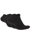 Nike Everyday Cushioned No-Show Socks 3Pairs Men Black/White Mens Training