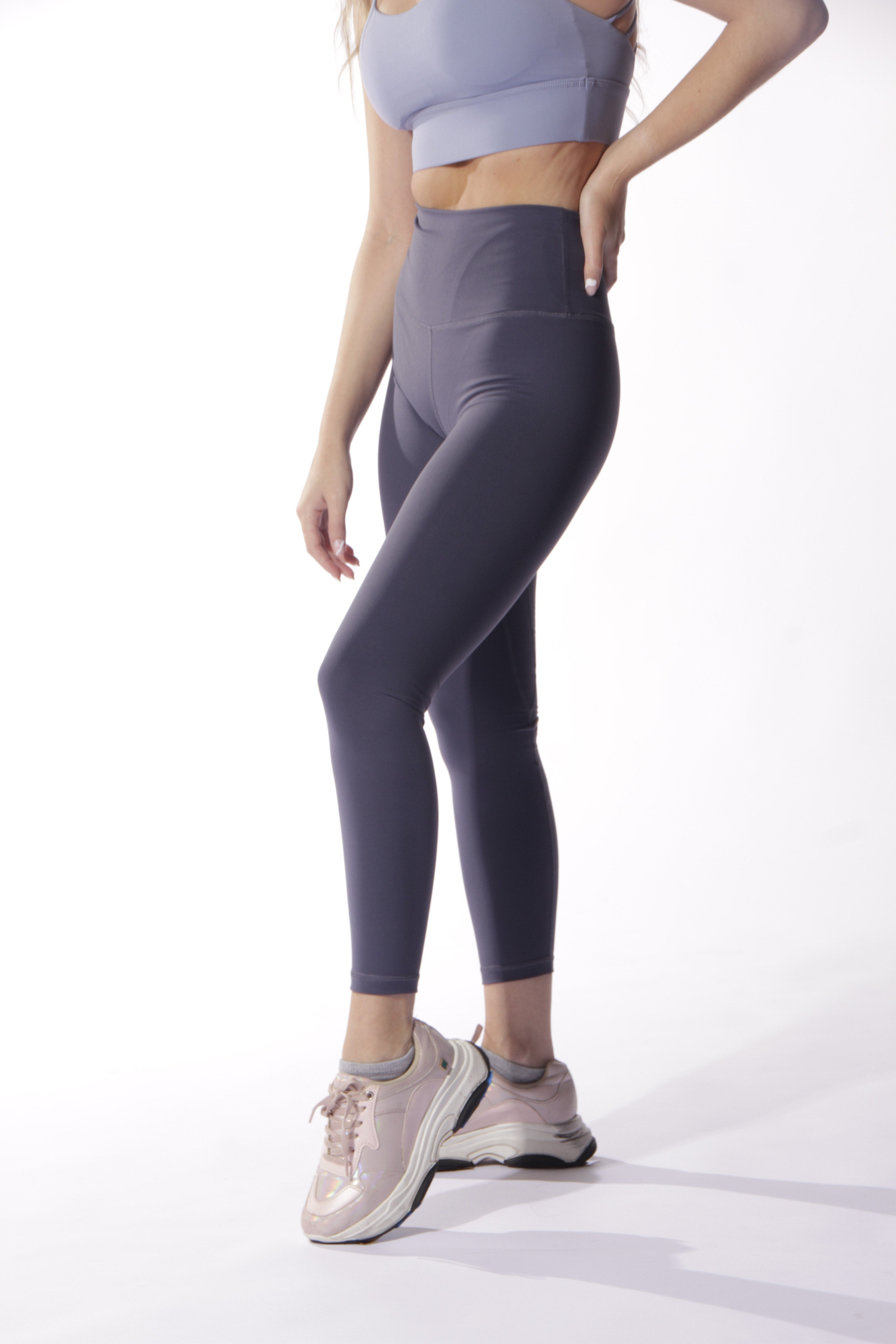 COMFY BASIC LILAC GREY - ZIBA Activewear