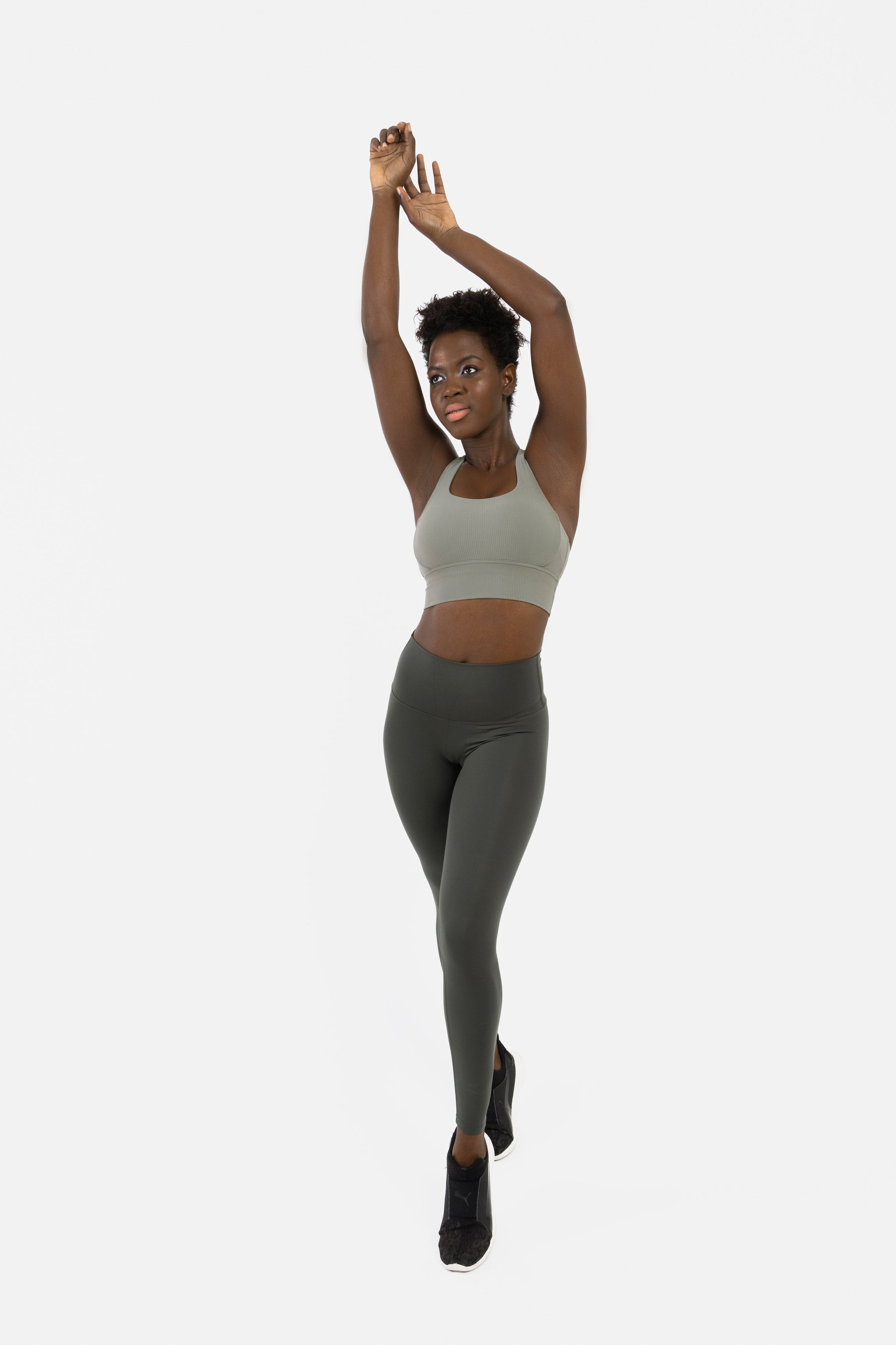 STRONG ARMY GREEN - ZIBA Activewear