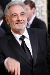 Plácido Domingo with coronavirus