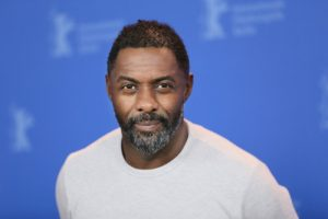 Idris Elba with coronavirus
