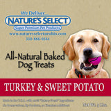 Nature's Select Turkey & Sweet Potato Treats  5lbs
