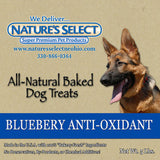 Nature's Select Blueberry Anti-Oxidant Dog Treats  5lbs