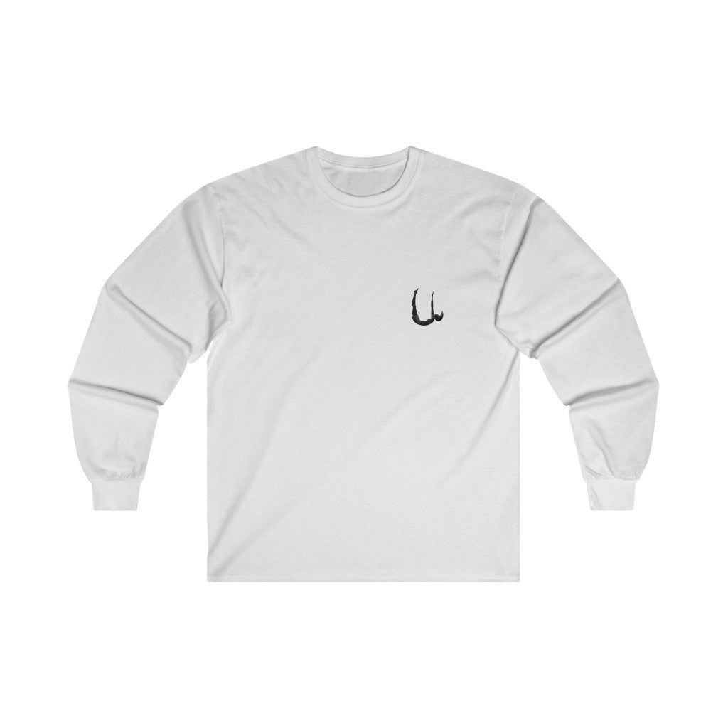 U Look Chilly Long Sleeve Tee (Black Logo)