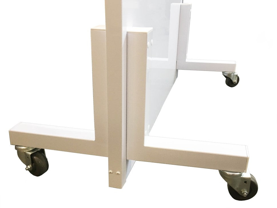 Legs and Caster Wheels for Mobile Lead Radiation Barrier