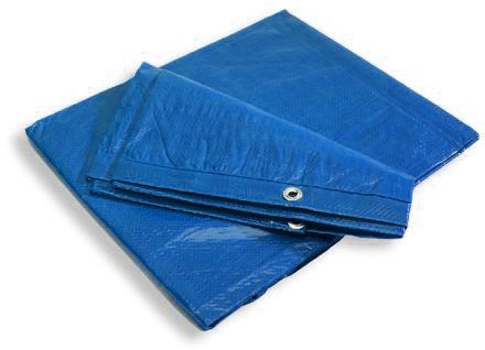Blue Poly Tarps Light Duty