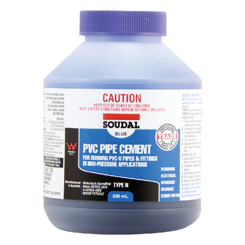 PVC Pipe Cement Type N Blue 500ml