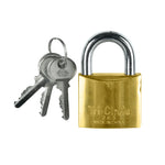 Padlock Brass 50mm (Keyed Different)