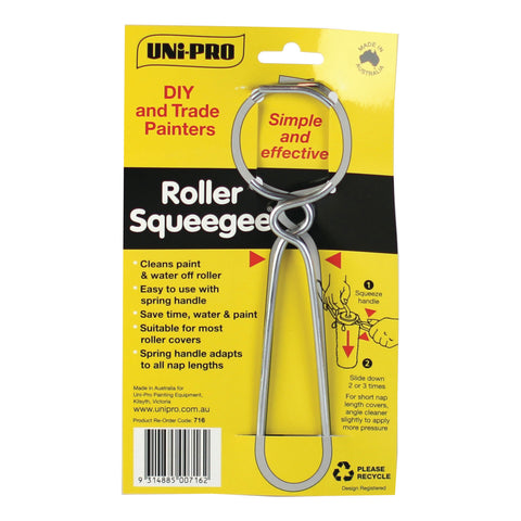 Wire Roller Squeegee