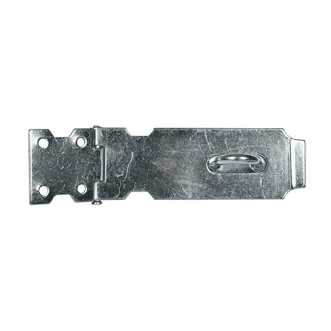 Safety Hasp & Staple 125mm Zinc