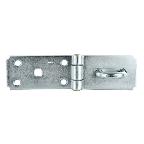 Heavy Duty Hasp & Staple 184mm Zinc